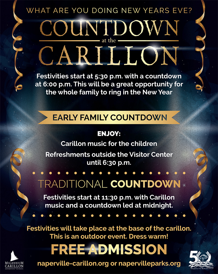 New Year Countdown at the Carillon